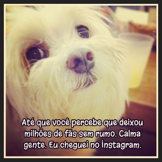 Eu no Instagram